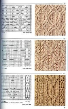 Photo from album Knitting Patterns on Yandex. Knitting Stiches, Cable Knitting, Knitting Charts, Hand Knitting, Knit Stitches, Stitch Patterns, Knitting Patterns, Crochet Patterns, Knitting Designs