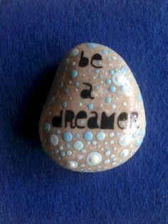 Best painted rock art ideas with quotes you can do (84)