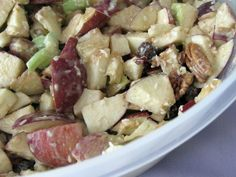Apple Pecan Salad #SundaySupper