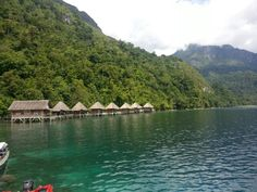The Ora resort, Sawai, Seram island, Indonesia ~Photo taken by Gatot N.A.W