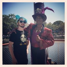 I got to meet Doctor Facilier at Disneyland! by ambywerewolf