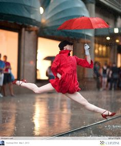 Dancers among us!  [ the Royal Ballet in London has a contest & they've asked everyone to send them photos of people doing a grand jete anywhere & everywhere. There have been some really amazing photos. ]