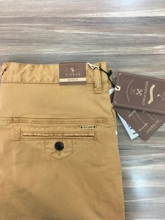 Men trouser detail casual citrus chinos