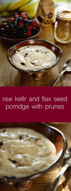 raw kefir and flax s
