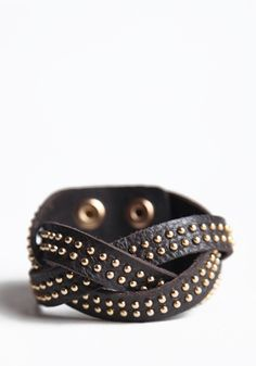 Studded Delight Bracelet 25.00 at threadsence.com
