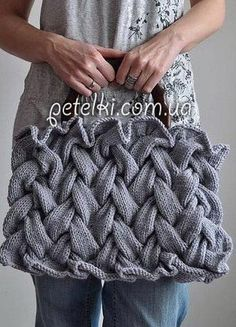 Красивый узор для сумки и не только. Схема
