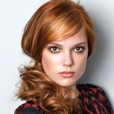 Smokey eyes for redheads. This is a yes. I love customized makeup looks.