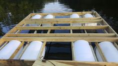 "This is a floating dock that's easy to make and works beautifully. Here is quick parts list of everything I used:4 - 2x8"" pressure treated lumber. 8 feet long.7 - 2x4"" pressure treated lumber. 8 feet long.17 - 1x6"" pressure treated lumber. 8 feet long.4 - 4x4"" pressure treated posts. 8 inches long.4 - 55gallon plastic Barrels100ft of Rope16 - Screw in Eye Hooks10 to 20 - L shape bracesGalvanized screws and NailsDrill/Screw DriverHammerSilicone CaulkingUPDATEHere are the pa..."