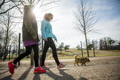 Tutkijat löysivät helpon tavan saada lisätehoja kävelyyn: mutkittele ja pysähdy.