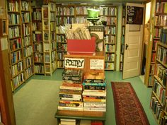 Ophelia's Books by brewbooks, via Flickr. GREAT bookstore in Seattle's Fremont neighbourhood.