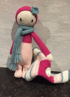 lalylala doll mada by Pascale de W. / crochet pattern by lalylala