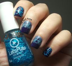 The Clockwise Nail Polish: Purple Professional 11 Its a Blueberry & Top Beauty Slingshot
