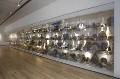 The Wall of Pots displays a range of ceramics from the York Museums Trust Art, Social History and Archaeology collections. Centre of Ceramic Art (CoCA), York Art Gallery. York Art Gallery, York Museum, Ceramic Art, Archaeology, Centre, Photo Wall, Display, Ceramics, Museums