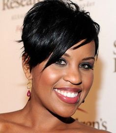 9 Refined Tips AND Tricks: Women Hairstyles For Fine Hair Products asymmetrical hairstyles with curls.Black Women Hairstyles Girls cornrows hairstyles for short hair.Asymmetrical Hairstyles With Curls. Black Women Short Hairstyles, African Hairstyles, Hairstyles With Bangs, Trendy Hairstyles, Short Haircuts, Haircut Short, Wedge Hairstyles, Wedding Hairstyles, Bouffant Hairstyles