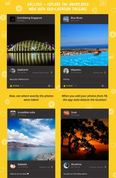 Looking to go for a vacation to a completely new place? To somewhere unexplored? Check out the galleri5 Android app!