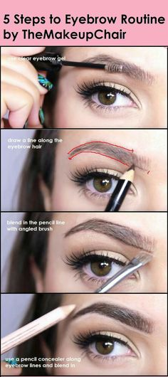 A step by step guide to doing your eyebrows. #makeup #makeupartist #brows #eyebrows #makeuptutorial Halo Hair Extensions, Tips & Tricks, Makeup Tutorials, Hair Tutorials, Makeup Ideas, Makeup Inspo, Contour Makeup, Eyebrow Makeup, Eyebrow Tinting
