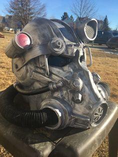 Fallout 4 T-60 Power Armor Helmet by RavenRockStudios on Etsy https://www.etsy.com/listing/265363889/fallout-4-t-60-power-armor-helmet