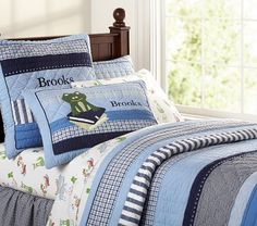 Pottery Barn Look-Alikes: Pottery Barn Kids Morgan Quilted Bedding