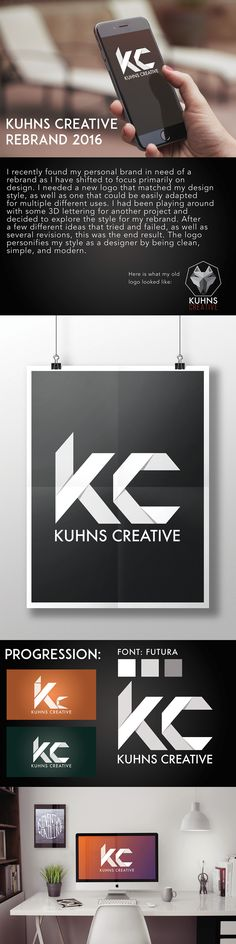 Kuhns Creative Short Case Study on Behance