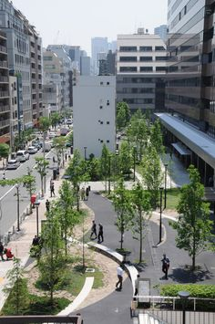 M&N Environmental Planning Institute Tokyo Japan Landscape Architects Landscaping Company, Garden Landscaping, Luxury Landscaping, Urban Landscape, Landscape Design, Landscape Architecture, Architecture Design, Parque Linear, Pocket Garden