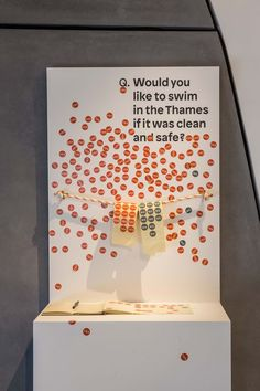 Either or question - simple stand behind box Interactive Exhibition, Interactive Walls, Interactive Installation, Interactive Design, Museum Exhibition Design, Exhibition Display, Cultural Probes, Experiential Marketing, Event Marketing