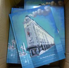 """Portada del Libro """"De Madrid al Palace""""  Aniversario 100 años de Palace"""