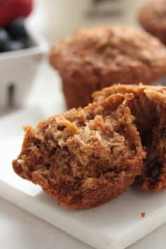 Morning Glory Muffins - Packed with apple, and vegetables - you wouldn't even know this recipe is healthy!! The ultimate breakfast or post workout snack!