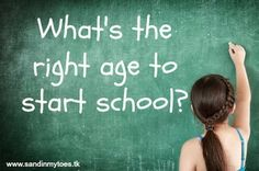 When should children start schooling?  #parenting #Schooling #toddlers