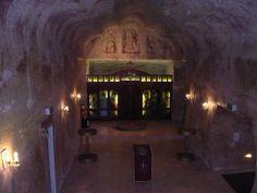 Underground church, Cooper Pedy, S. Alice Springs, Australia, Photography, Painting, Image, Photos, Home Decor, Art, Art Background