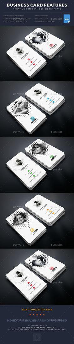 Creative Photography Business Card Template PSD