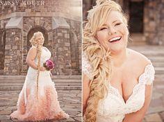 Plus size wedding dress = model KAT ROLL