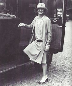 Coco Chanel, Paris, 1928