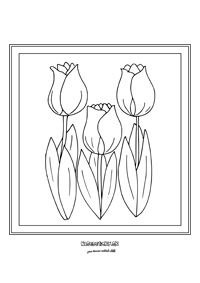 Tulipány - jarné kvietky - My site Colouring Pages, Rug Hooking, Diy Projects To Try, Tulips, Mosaic, Jar, Spring, Grey Trench Coat, Drawings