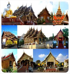 Thailand historical architecture