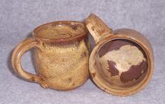 Ceramic Mug Coffee Mugs Set Handmade Stoneware Wheel ThrownsCeramics Pottery via Etsy