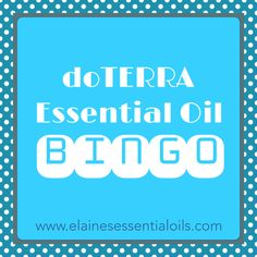 If the idea of teaching a class is keeping you from sharing essential oils, worry no longer! doTERRA Essential Oil Bingo is a fun, low-key way to teach others about essential oils. www.elainesessentialoils.com