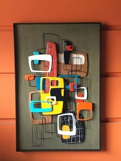 2017 New Release - Mid Century Modern Art Abstract Wall Sculpture Painting Retro . - 2017 New Release – Mid Century Modern Art Abstract Wall Sculpture Painting Retro Eames . Mid Century Art, Mid Century Modern Design, Sculpture Painting, Wall Sculptures, Painting Art, Danish Modern, Mid-century Modern, Art Moderne, Googie