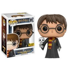 ★Funko POP! Movies - Harry Potter - Harry Potter (w/ Robes & Hedwig)