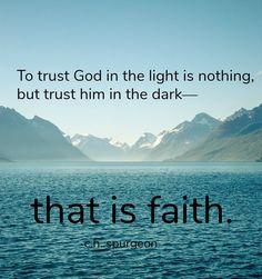 Trusting God through Difficult Seasons