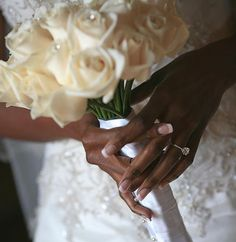 These hands, they come to hold you! Love everything about this shot!  Cc: @spectacularaffairs ・・・ Beautiful bridal bouquet and engagement ring! These are a few of my favorite things... photography by Don @ollistudio . . . #engaged #engagementring #florist #spectacularaffairs #weddingplanner #welovewhatwedo #eventplanner #flowers #weddingdress #love #beautiful #blackbride #blackbride1998 #bbbbling