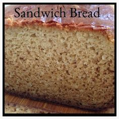 Grain-Free Sandwich Bread. No yeast, no rising! made with Otto's Cassava Flour.