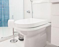 Banheiro clean, moderno e funcional | Revista Casa Linda
