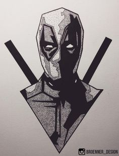 Apparently Its My Cakeday So Here Are Some Superhero - Apparently Its My Cakeday So Here Are Some Superhero Drawings I Made Not Long Ago March F F Deadpool Wadewilson Marvel Draw Sketch Changas Chimi Deadpool Draw Fu Deadpool Tattoo, Deadpool Art, Deadpool Kawaii, Cool Art Drawings, Art Drawings Sketches, Cartoon Drawings, Tattoo Design Drawings, Iron Man Kunst, Iron Man Art