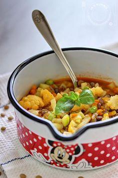 JA U KUHINJI...: Hrana za najmlađe: Varivo od sočiva i povrća