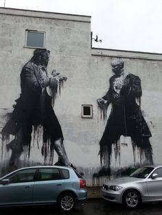 Street art in London, by Connor Harrington. #london