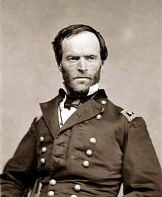 General William Tecumseh Sherman Interesting that General Sherman shares the name Tecumseh with the Native American leader of the Shawnee. General Sherman, History Memes, World History, Funny History, American Civil War, American History, American Soldiers, Early American, Native American