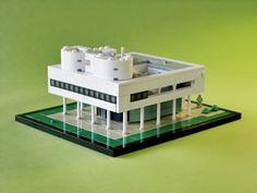 Le Corbusier's Villa Savoye for CUUSOO: A LEGO® creation by King Arthur : MOCpages.com
