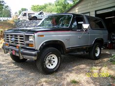 1982 Ford Bronco. Perfect condition.