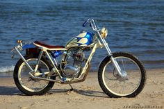 Honda SL 125 Custombike #chopper #biker