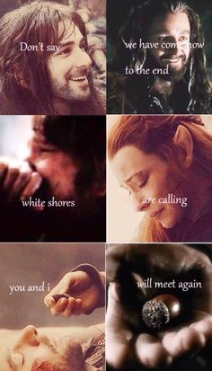 Kili, Tauriel, Thorin and Bilbo.... #MiddleBackPain